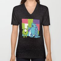 Monster Time Unisex V-Neck