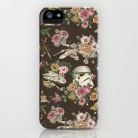 iPhone 5s & iPhone 5 Cases featuring Botanic Wars by Josh Ln