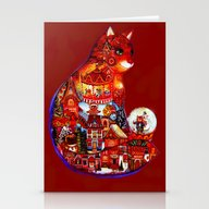 Christmas Cat 2016 Stationery Cards