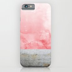 Concrete And Pink iPhone 6 Slim Case