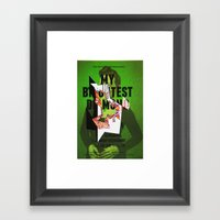 jhfjh Framed Art Print