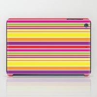 sunshine stripe iPad Case
