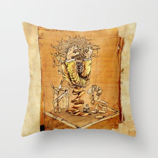 BREAK POINT Throw Pillow