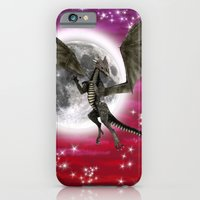 iPhone & iPod Case featuring Black Dragon by Design Windmill