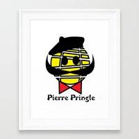 Píerre Príngle Framed Art Print