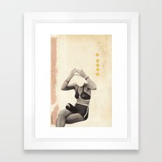 Losing my Head Framed Art Print