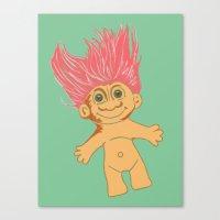Troll, 2013. Canvas Print