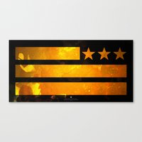 TriStar Flag Canvas Print