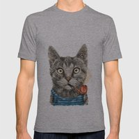 Sailor Cat IX Mens Fitted Tee Athletic Grey SMALL