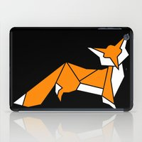 Origami Little Fox iPad Case