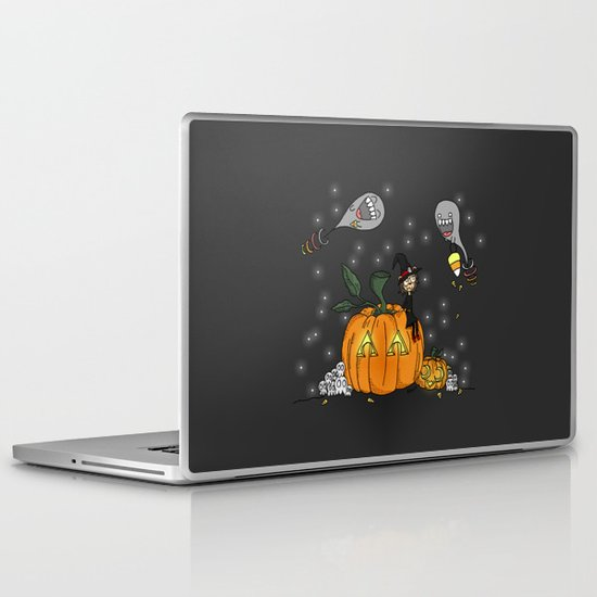 Halloween Spirits Laptop & iPad Skin