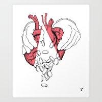 Money Or Love Art Print