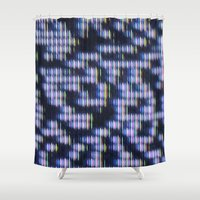 Painted Attenuation 1.1.1 Shower Curtain