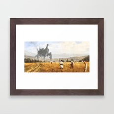 1920 - Sail Framed Art Print
