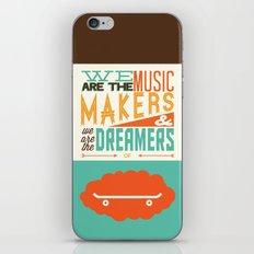 o'shaughnessy iPhone & iPod Skin