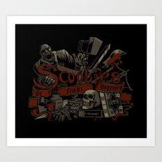 Scoobies Art Print