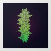 Green Monolith Canvas Print