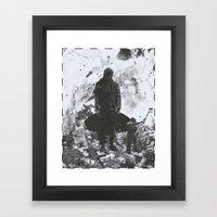 Witch Hunt Framed Art Print