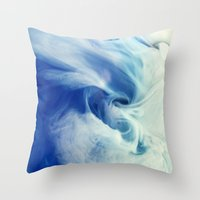 I bring the sea Throw Pillow