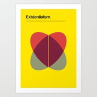 Existentialism Art Print