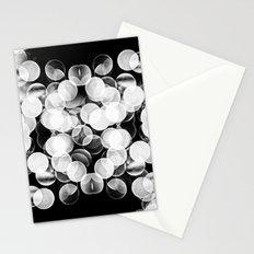 Bokeh Symmetry 3 Stationery Cards