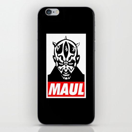 Obey Darth Maul (maul text version) - Star Wars iPhone & iPod Skin