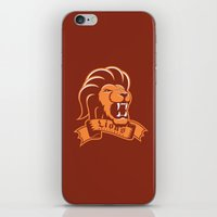 Lions Gryffindor iPhone & iPod Skin