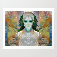 Machina Ex Femina Art Print