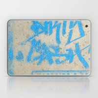 DIRTY CASH - TAGGING STREETART MIAMI by Jay Hops Laptop & iPad Skin