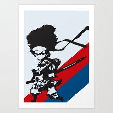 Huey Freeman - The Boondocks Art Print