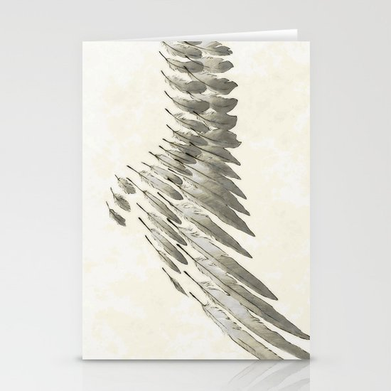 Wing Stationery Card