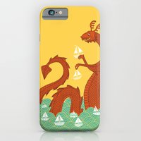 It's a Good Day to be a Sea Monster iPhone 6 Slim Case