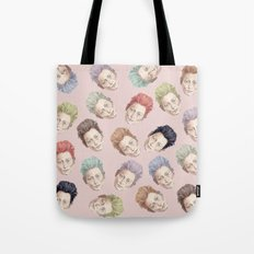Tilda Heads And Hair Col… Tote Bag