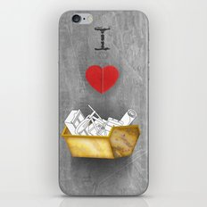 i heart skips iPhone & iPod Skin