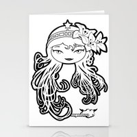 Lybee Black & White Stationery Cards