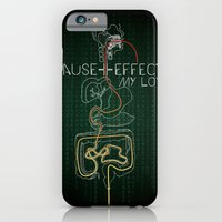 iPhone & iPod Case featuring Cause And Effect, My Love by Salmanorguk
