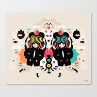 It's A Happy Dance Canvas Print