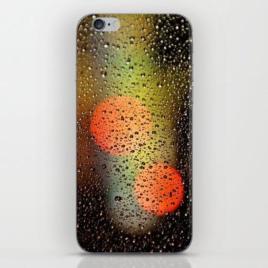 Rain Drops and Color Pops iPhone & iPod Skin