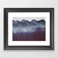 Winter Glory Framed Art Print