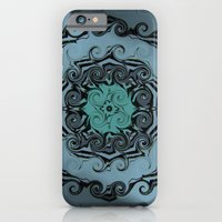 iPhone & iPod Case featuring Tattoo of teardrops by Pink grapes