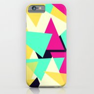 iPhone & iPod Case featuring Triangles Splash by CharlyROSE