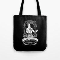 Vintage Boxing - Black E… Tote Bag