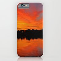 iPhone & iPod Case featuring Lafayette River Sunset by Thephotomomma