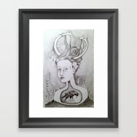 The 25th of 52 Crows Framed Art Print