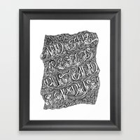 And The Rest Is Rust And… Framed Art Print
