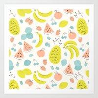 Fruity Art Print