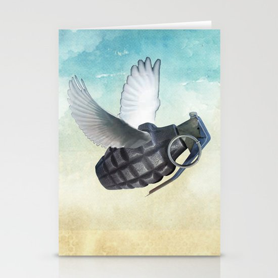 war and peace Stationery Card