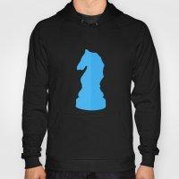 Blue Chess Piece - Knigh… Hoody