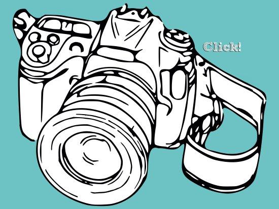 Click! Art Print