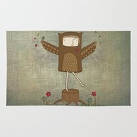 Little Owl Girl Rug